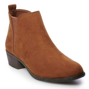New So Women's Brown Ankle Boots Ankle Booties